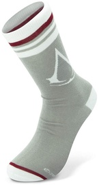 Abysse Corp Assassin's Creed Crest Socks Grey/White