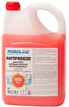 Nordline Longlife G12 Antifreeze Red 4l