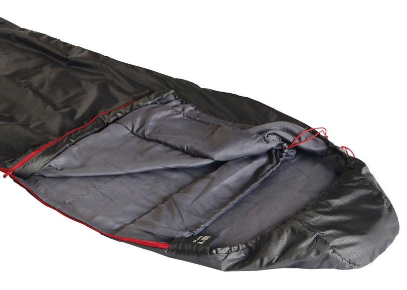 Спальный мешок High Peak Redwood 14 Black, левый, 210 см