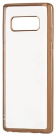 Hurtel Metalic Slim Back Case For Sony Xperia XA2 Gold