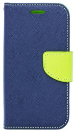 Telone Fancy Diary Bookstand Case For Samsung Galaxy S7 Blue/Light Green