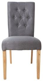 Ēdamistabas krēsls Home4you Queen, pelēka
