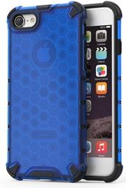 Hurtel Honeycomb Armor Back Case For Apple iPhone 7/8 Blue