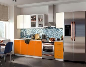 Virtuves komplekts MN Fortune Mango/Beige, 1.7 m