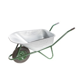 Limex Wheelbarrow Steel/Green  100l