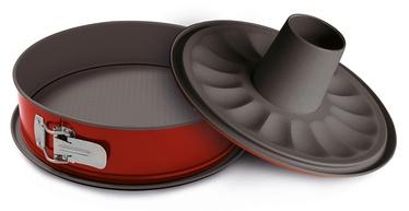 Форма для выпечки Guardini 50024HGNAM, 240 мм, красный/серый, 3 шт.