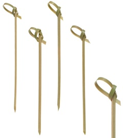 Pap Star Knot Bamboo Skewers 10cm 250pcs