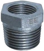 """STP Fittings Cast Iron Reducing Connector Zinc 1 1/4""""Mx1/2""""F"""