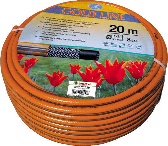 Šļūtene Bradas Gold Line Garden Hose Orange 1/2'' 20m