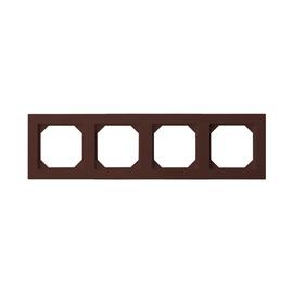 Liregus Epsilon Slim Line Four Way Frame K14-145-04 Brown