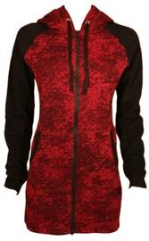 Bars Womens Sport Jacket Red/Black 150 L