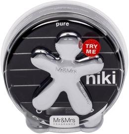 Mr & Mrs Fragrance Niki Car Air Freshener Pure 1pc
