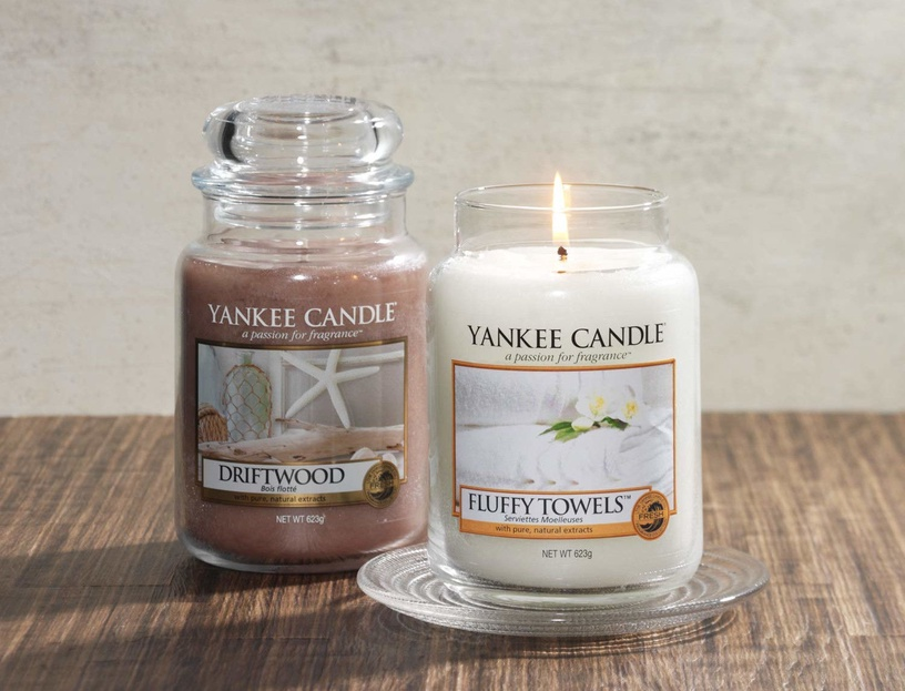 Yankee Candle Classic Large Jar Fluffy Towels 623g