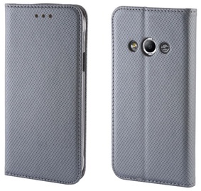 Forever Smart Fix Book Case For Sony Xperia M4 Aqua Grey