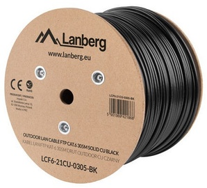 Lanberg Network Cable F/UTP Cat 6 Black 305m