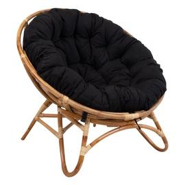 Home4you Mellow Lounge Chair Rotang/Black