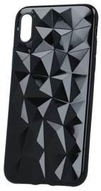 Mocco Trendy Diamonds Back Case For Apple iPhone XS Max Black