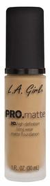 Tonizējošais krēms L.A. Girl PRO Matte Foundation Soft Beige, 30 ml