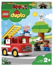 Konstruktors LEGO Duplo Ugunsdzēsēju automašīna 10901, 21 gab.