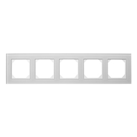 Liregus Epsilon Five Way Frame K14-245-05 Matt Glass White