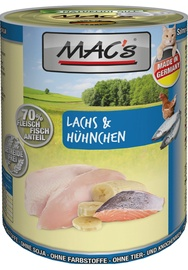 Mac's Cat Wet Food w/ Salmon & Chicken 800g