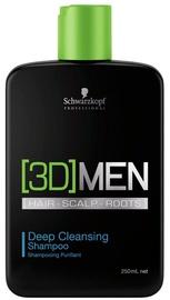 Schwarzkopf 3D Deep Cleansing Shampoo 250ml