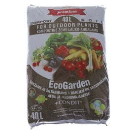Juknevičiaus EcoGarden Compost For Vegetable And Greenhouse With Fertilizer 40l