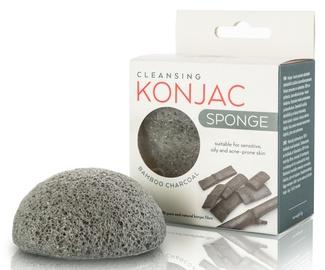 Active Line Beauty Cleansing Konjac Sponge Bamboo Charcoal
