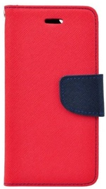 Mocco Fancy Book Case For Samsung Galaxy J4 J400 Red/Blue