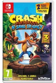 Nintendo Switch spēle Crash Bandicoot N. Sane Trilogy Switch