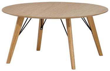 Kafijas galdiņš Home4you Helena Brown, 800x800x450 mm