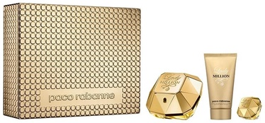 Paco Rabanne Lady Million 50ml EDP + 75ml Body Lotion + 5ml EDP