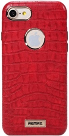 Remax Maso Snake Skin Design Back Case For Apple iPhone 7 Red
