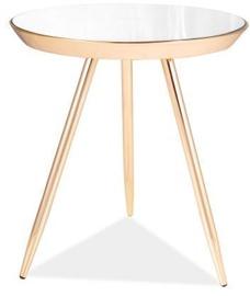 Журнальный столик Signal Meble Bora C Gold/Mirror (поврежденная упаковка)