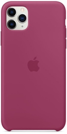 Apple Silicone Back Case For Apple iPhone 11 Pro Max Pomegranate