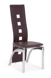 Ēdamistabas krēsls Halmar K4 Dark Brown