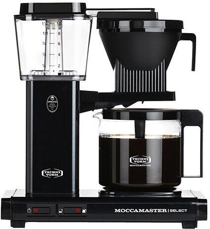 Kapsulas kafijas automāts Moccamaster KBG 741, melna
