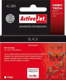ActiveJet Cartridge AC-8BR For Canon 13ml Black