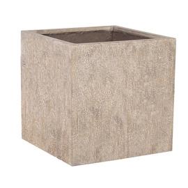 Home4you Sandstone Flowerpot 50x50x50cm Beige