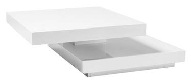 Kafijas galdiņš Signal Meble Falon, balta, 750x750x340 mm