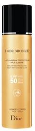 Pieniņš saules aizsardzībai Christian Dior Bronze Beautifying Protective Milky Mist Sublime Glow SPF50, 125 ml