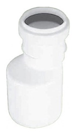 Magnaplast Pipe Connection Adapter White 32x40mm