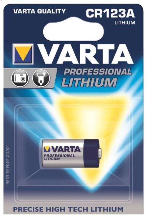 Varta Baterries Lithium CR123A