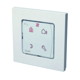 Termostats Danfoss Room Thermostat Icon 088U1020 In-Wall White