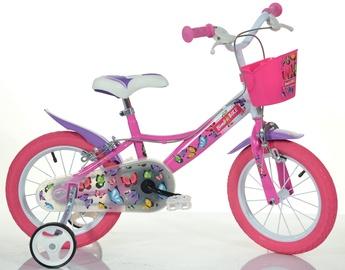 "Детский велосипед Bimbo Bike Butterfly 14"" Pink"