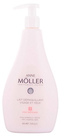 Sejas piens Anne Möller Clean Up Face And Eyes Make Up Remover Milk, 400 ml
