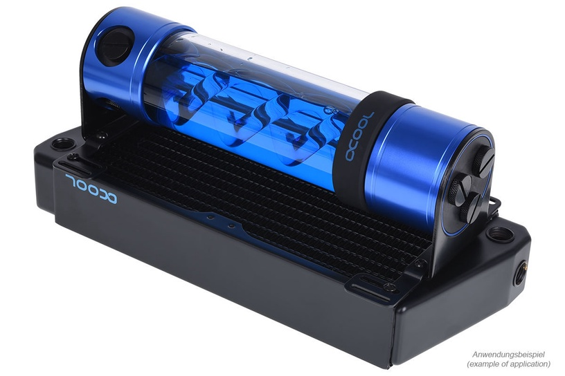 Alphacool Eisbecher Helix Light 250mm Blue