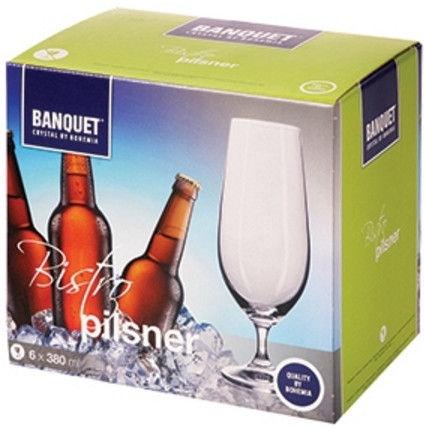 Banquet Pilsner Glass Set 6pcs