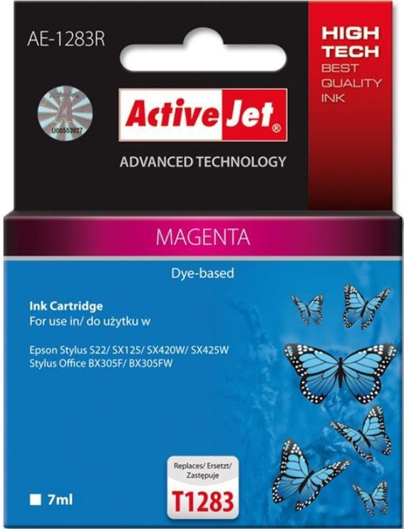 ActiveJet Cartridge AE-1283R For Epson 13ml Magenta