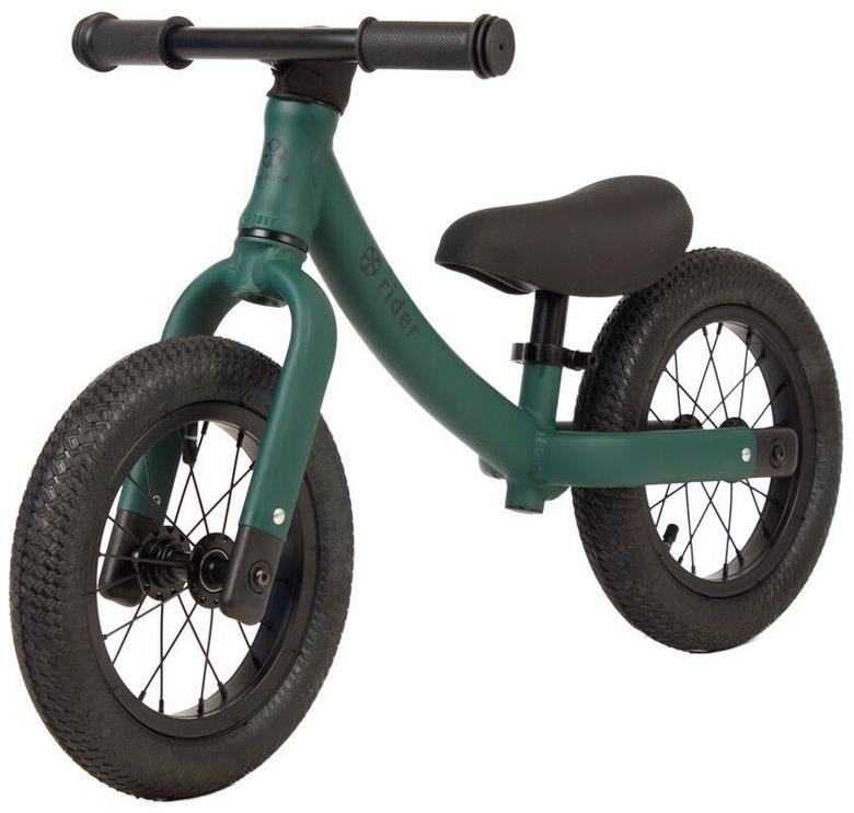 Балансирующий велосипед My Hood Rider, зеленый, 12″
